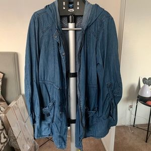 Torrid denim light weight jacket